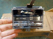 65 66 Chrysler Nos Heater Controls W/ Switch Non A/c Newport New Yorker 300
