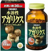 Orihiro Water Soluble Agaricus Supplement 36days 432tablets Japan Brand New