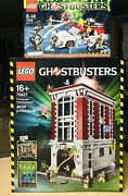 Lego 75827 + 75828 - Firehouse Headquarters And Ghostbusters Ecto-1and2 Bnib Retired