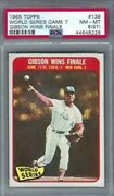1965 Topps 138 World Series Game 7 Gibson Wins Finale Nm Mt Psa 8 St