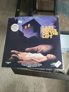 Last House On The Left 1972 Uncut Wes Craven Laserdisc Brand New And Sealed