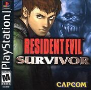 Resident Evil Survivor Sony Playstation 1 2000 New Sealed Classic Video Game Ps1