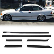 For Bmw 1992-1998 E36 M3 Coupe 2d Body Side Molding Door Moulding Trim