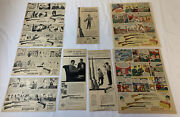 Collection Of 9 Winchester 1950and039s Ads Hunting Rifles Scouts Billy And Wes