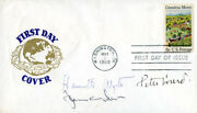 Jamie Wyeth - First Day Cover Signed Co-signed By Henriette Wyeth, Peter Hurd