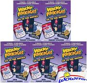 52018 Topps Wacky Packages Go To The Movies Exclusive Sealed Blaster Box