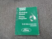 2004 Ford F53 Motorhome Chassis Electrical Wiring Diagrams Service Repair Manual