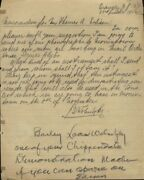 Thomas A. Edison Autograph Note Signed Circa 1922 Co-signed By Bruno Wolnitzky