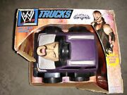 Wwe Trucks The Undertaker Truck - Electronic Planet Toys 2006 New Vintage Rare