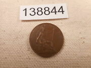 1920 Great Britain Farthing - Nice Post Ww I Collector Album Coin - 138844