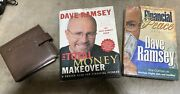 Lot Of Dave Ramsey Books Cds Financial Peace University Total Money Makeover