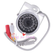 30 Led Color Waterproof Small Cctv Security Camera With Audio Indoor Outdoor