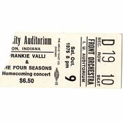 Frankie Valli And Bob Seger Concert Ticket Stub Bloomington In 10/9/76 Night Moves