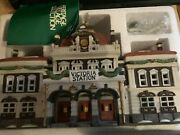 Department 56 Dickens Village Victoria Station Lighted Building Free Shipping
