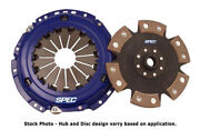 Spec Stage 4 Clutch For 1990-1999 Plymouth Laser 2wd Turbo From April 1990 Sm484