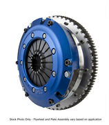 Spec Super Twin St-trim Clutch Kit For 05-10 Ford Mustang 4.6l 6-bolt Sf46st