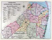 Monmouth County New Jersey - Wolverton 1889 - 29.63 X 23