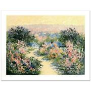 """Kerry Hallam """"reign Of Roses 1 /275 - Lowest Limited Edition Serigraph"""