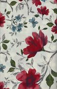 Floral Patterned Flannel Backed Vinyl Tablecloths. Round Oblong Square