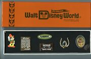 Disney World Florida Project Frontierland Country Bears Canoes Boxed Pin Set