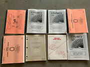 Vintage 1970s-90s Aircraft Engines + Training Manuals Airbus Boeing Douglas