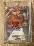 2019 Topps Tribute Mike Trout Auto 1/10 🔥💎