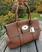 Limited Edition Mulberry Bayswater Cookie Brown Satchel/leather Shoulder Bag
