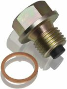 Magnetic Oil Sump Drain Plug M14 X 1.5 Detects Potential Engine Problems