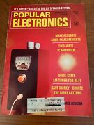 Lot Of 12 Popular Electronics Magazine Complete 1969 Year