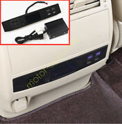 Rear Air Outlet Usb Converter Charger Lighter Fit Toyota Land Cruiser 1998-2021