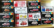 Diecast Model Car Lot Tomica Fire Engine Fighter Chief Ambulance Red Cross