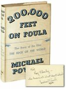 Michael Powell 200000 Feet On Foula The Edge Of The World First Signed 134288