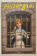 Walter Barnsdale Prison Bars Original Poster For The 1901 Documentary 142546
