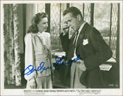 Barbara Stanwyck - Photograph Signed