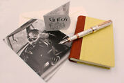 Solid Silver Pen And The City Fp Black Cartridge International Type Extra Fine Nib
