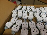 150 X Pass And Seymour Tamper Resistant Duplex Receptacle 15a 125v No Ears White