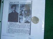 Wwii - 1950's Us Navy Helicopter Pilot Killed Dog Tag And Research
