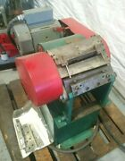 Heavy Duty Metal Stock 5 Chopper 1 Hp With New Blades 220v 3 Phase