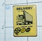 Local 228 Uaw Union Delivery Sterling Heights Michigan 1.25 Lapel Pin