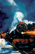 Harry Potter- Hogwarts Express Giclee On Canvas- Limited Edition