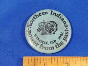 1981 Power From The Past Northern Indiana Winimac Engine Tractor Pinback Button