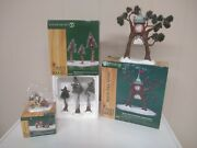Department 56 North Pole Woods Lot