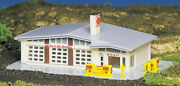 Bachmann Plasticville N Scale Shell Gas Station 45904 New
