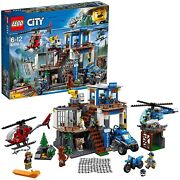 Lego City Police Command Base In Mountain Mountain 60174 Block Toy