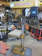 Powermatic 1150 Drill Press W/ Speed Reductionproduction Table Morse 2 Clausing