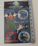 Capture The Magic Scrapbooking Stickers Disney World All Parks And More New