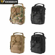 Tactical First Aid Kit Military Airsoft Molle Medical Pouch Emt Utility Pouch