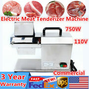 Commercial Meat Tenderizer Electric Tenderizer Cuber Stainless Steel 750w Tool