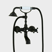 Oil Rubbed Bronze Bathroom Tub Faucet Hand Shower Sprayer Clawfoot Mixer Tap