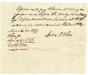 Rm 86 20andcent Ky 1st Federal Issue Embossed Revenue Stamp 1799 N W Territory Note